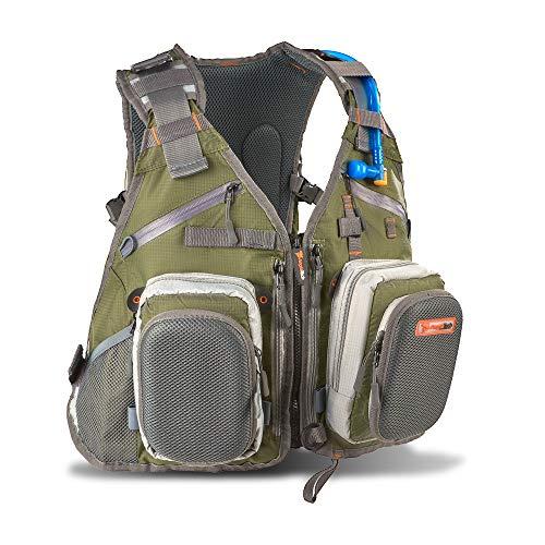 Anglatech Fly Fishing Backpack Vest Combo...