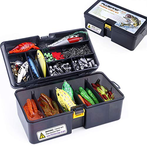 PLUSINNO Fishing Lures Baits Tackle Including...
