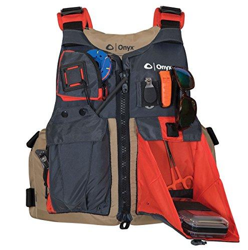 ONYX Kayak Fishing Life Jacket, Universal,...