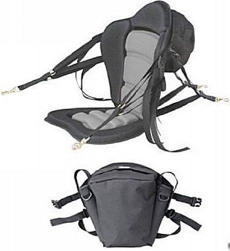 Deluxe Molded Foam Kayak Seat with Detachable...