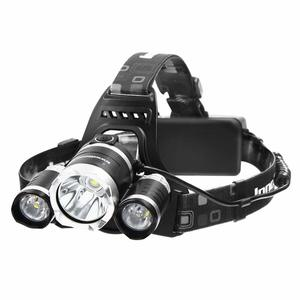 InnoGear 5000 Lumens Headlamp LED Flashlight Bright Headlight Torch with Rechargeable Batteries and Wall Charger for Hiking Camping Riding Fishing Hunting