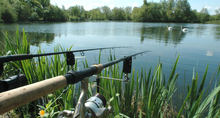 How to set up a fishing rod for lake fishing