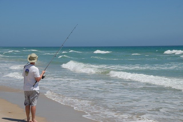 Fishing on the Shore
