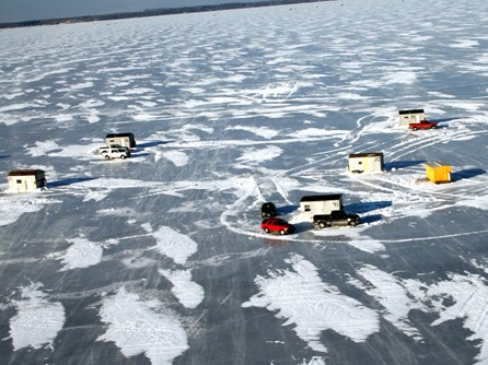 Popular Places For Ice Fishing