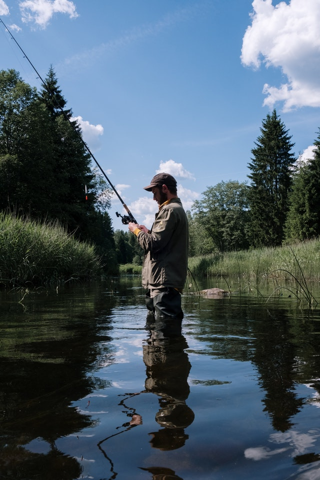 Catching Fish In A River