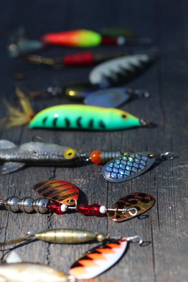 multiple fish lures